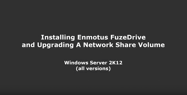Install FuzeDrive Virtual SSD software