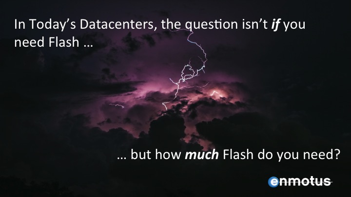 How much flash do you need