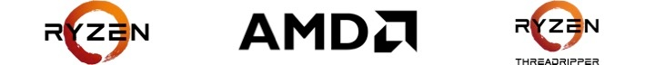 AMD 3 logos for web